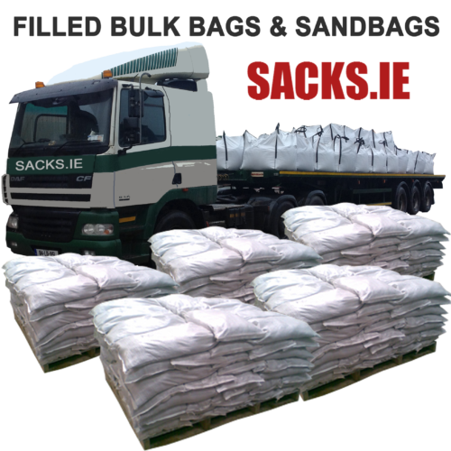 Filled Sandbags and Filled Bulk Bags