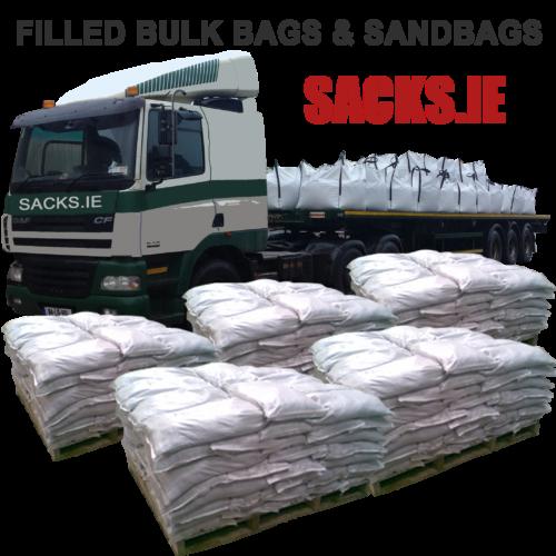 Filled Sandbags Ireland