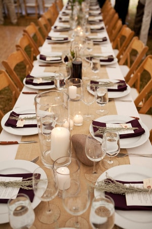 Table Runners Ireland Wedding